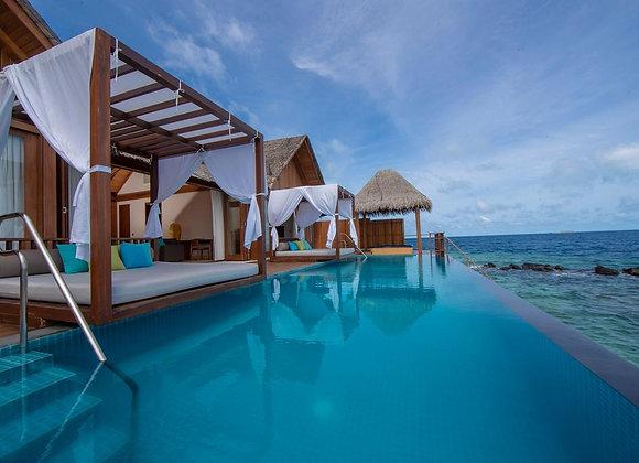 Furaveri Resort 3 Nights in Sunset Ocean Pool Villa