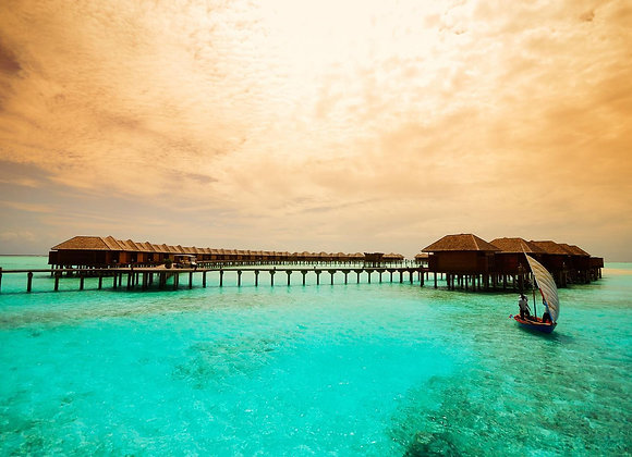 Sun Siyam Olhuveli Maldives 3 Nights in Romantic Water Villa with Pool