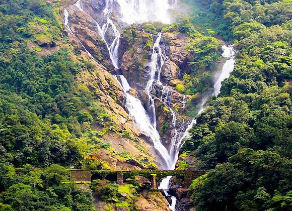 Budget Goa with Dinners and Dudhsagar