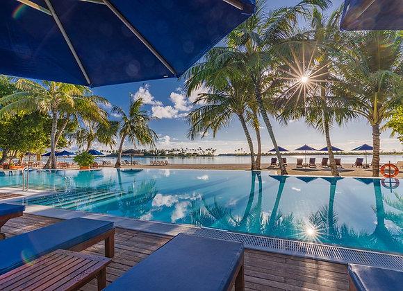 Sun Siyam Olhuveli Maldives 3 Nights in Sunset Jacuzzi Water Villa