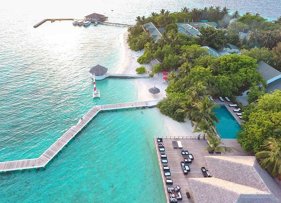 Eriyadu Island Resort 3 Nights in Deluxe Beach Villa