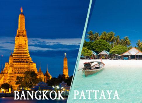 Affordable Bangkok and Pattaya Ex- Chennai