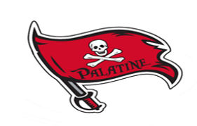 Photoshop Palatine Pirates Flag 275 x 17
