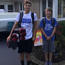 Freshman and 7th Grader