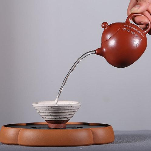 Long Dan Teapot, Yixing Purple Clay Tea Set Wholesale from Artisan Works