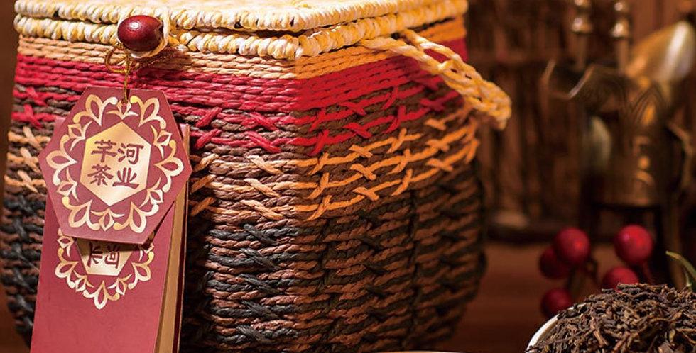 Liupu Tea/LiubaoTea, High-end Handmade Dark Tea for Collection