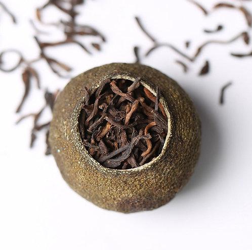 Xiao-Qing-Gan Tea/Small Green Citrus Peels Puer Ripe Tea