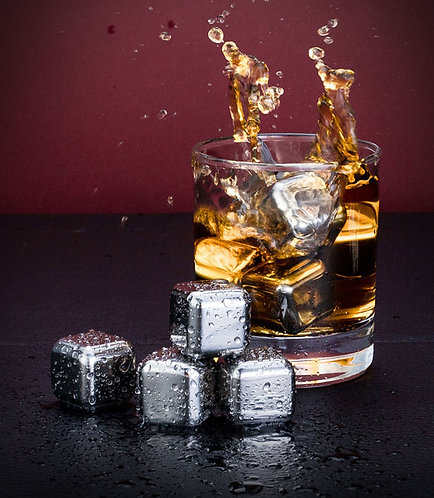 Stainless Steel Ice Cubes Reusable