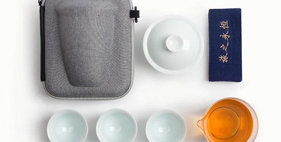Portable Tea-ceremony Tea Set Suite, High-end Tea Set Suite