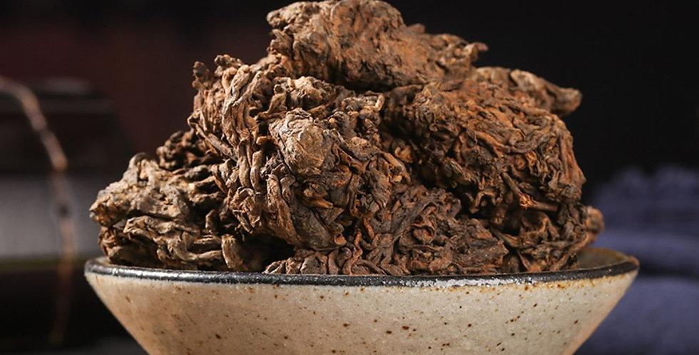 10-years Aging Pu'er Old Tea Lump Fermented Tea, Pu'er High-end Rare Tea