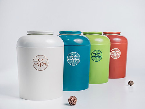 High-Class Tinplate Tea Canister, Tea-Shop Package Material Wholesale