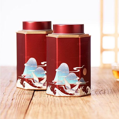 High-Class Tinplate Tea Caddy, Tea-Shop Package Material Wholesale