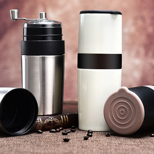 Multifunctional All-In-One Manual Coffee Machin