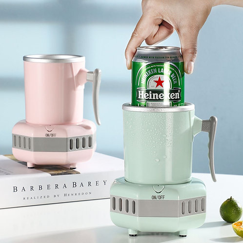Electric Cup Cooler Desktop/Fast Cooling Cup
