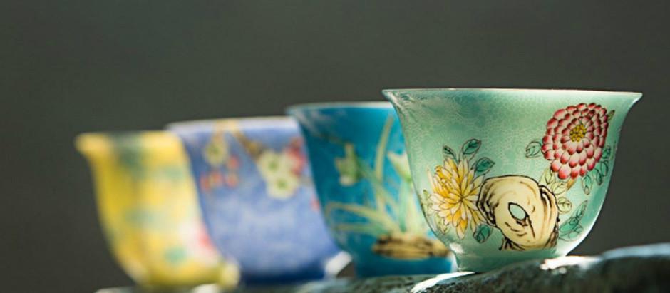 Jingdezhen Porcelain-1:Enamel-color Porcelain