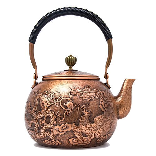 Copper Kettle,  Chinese Traditional Metal Tea Set Wholesale