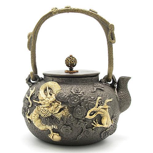 Iron Kettle,  Chinese Traditional Metal Tea Set Wholesale
