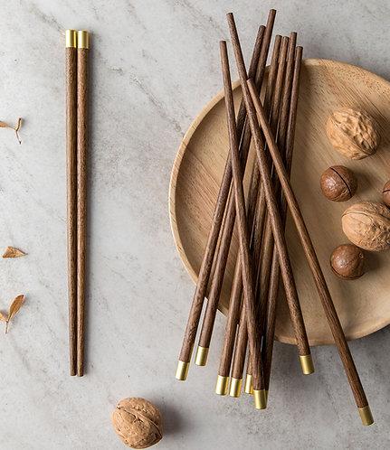 Handmade Natural wood Chopsticks /25cm/L