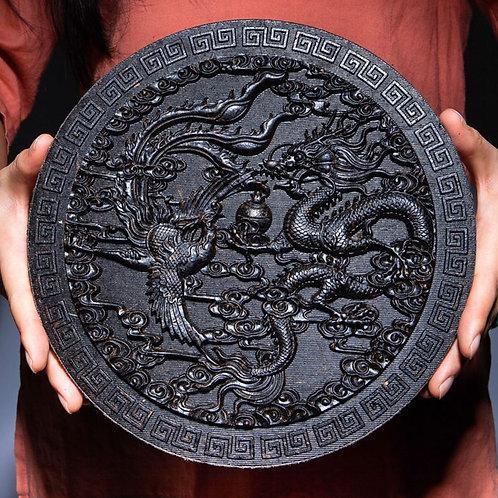 Da-Hong-Pao Tea Cake/Wuyi Rock Tea Arts and Crafts