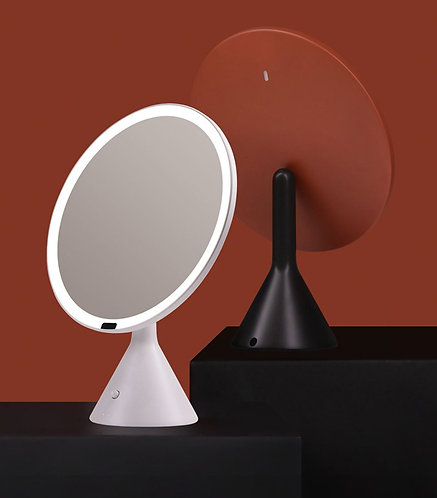 Intelligent Circular LED Makeup Mirror
