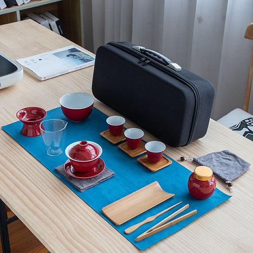 Tea-Art Teaching Professional Tea Set/Portable Chinese Tea-ceremony Tea Set