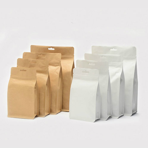 High-class Kraft Paper Bag for packagin Loose Tea, Tea-Shop Package Material