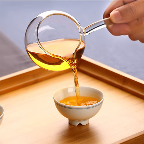 Glass Sharing Cup/Gong-Dao Cup, Chinese Tea Set Wholesale