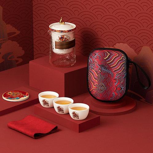 Portable Chinese Tea-ceremony Tea Set Suite