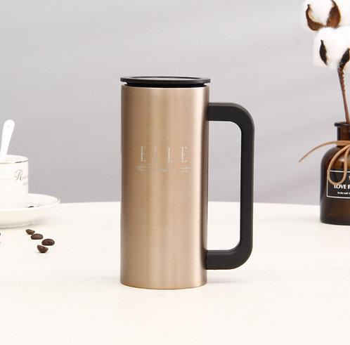 Stainless Steel Insulated Coffee Mug with Handle