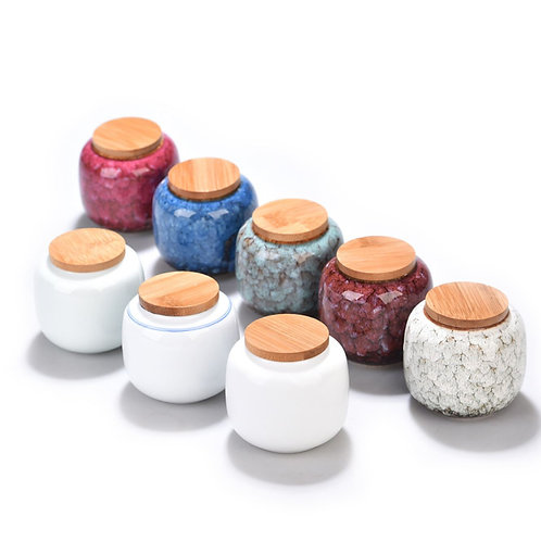 High-class Porcelain Canisters for Storing up Loose Tea