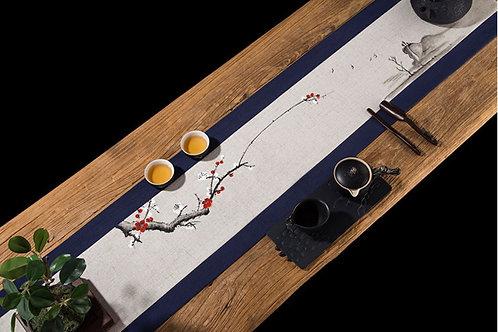 Vintage Oriental Style Tea Mat,Chinese Tea Ceremony Tea Set Accessories