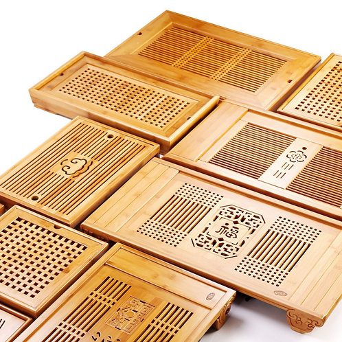 Vintage Bamboo Tea Tray, Chinese Tea Set Wholesale