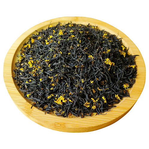 Osthmanthus Scented Longjing Black Tea Wholesale