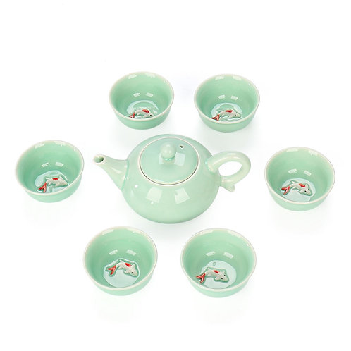 Chinese Traditional Porcelain Tea Set Suite, Chinese Tea Set Wholesale