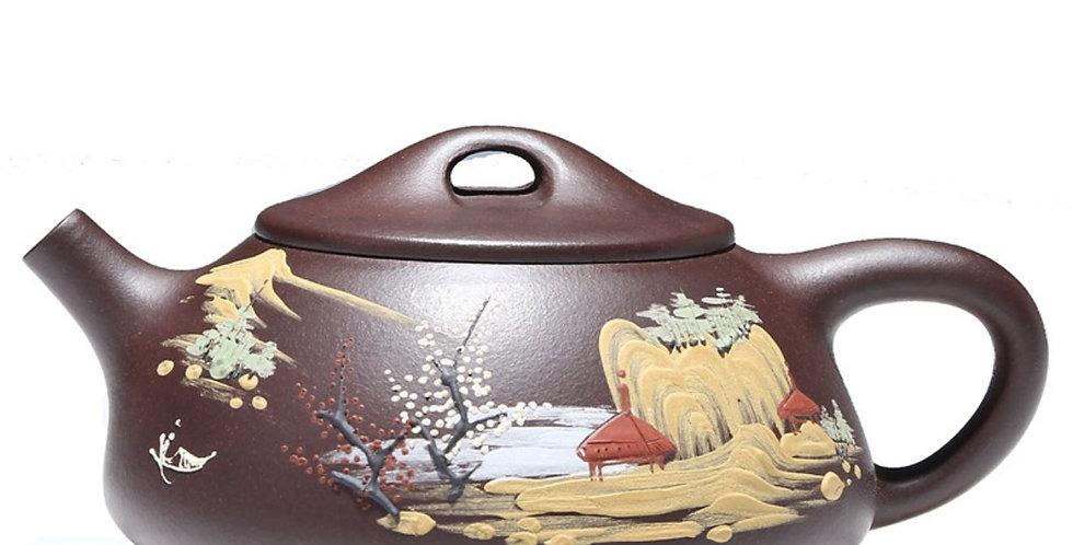 Shi Piao Teapot , Yixing Handmade Zisha Teapot With Certificate.