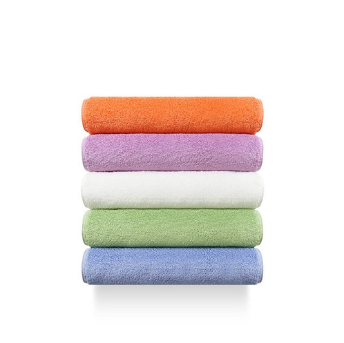 Premium Absorbent &  Antibacterial Cotton Towels