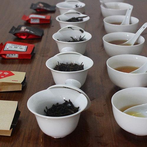 Tea Class 6: 4 Types of  Jin Jun Mei Tea, Samples for Studying Chinses Tea