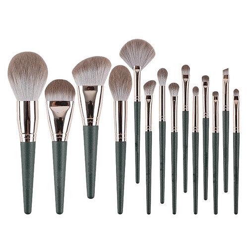14 Piece  Makeup Brush Set with Cosmetic bag
