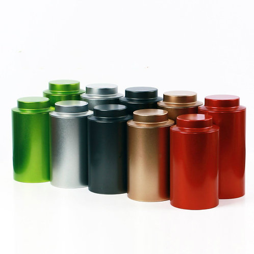 Premium Tinplate Canisters for Packing loose Tea, Tea-Shop Package Material