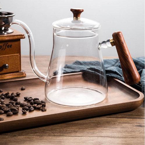 Glass Pour Over Kettle , Tea & Coffee Shop Materials