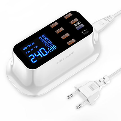 Multi-Port USB Charging Station