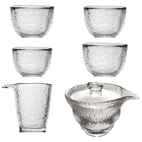 Japanese style Tea Ceremony Glass Tea Set Suite, Tea Set Wholesale