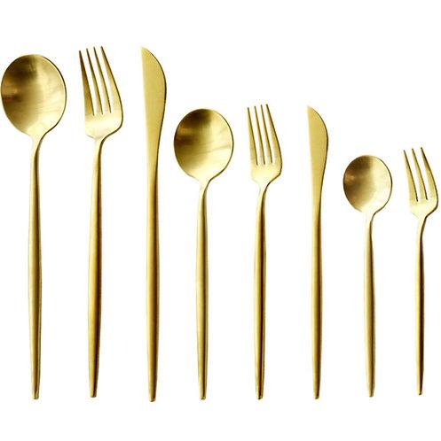 Stainless Western tableware