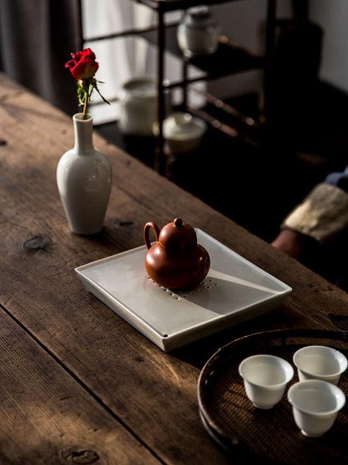 Vintage Crude Pottery Teapot Coasters,Chinese Tea Ceremony Tea Set Accessory