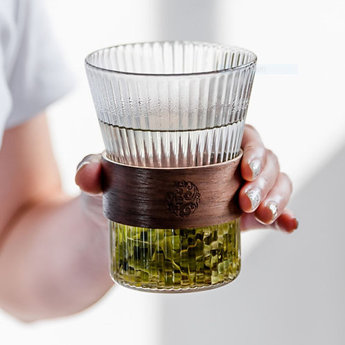 Glass Cup/Green Tea Brewing Cup, Chinese Tea Set Wholesale