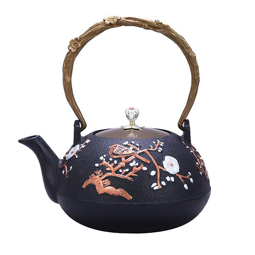 Iron Kettle,  Chinese Traditional Metal Tea Set Wholesale