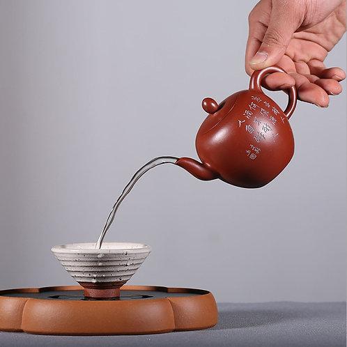 Mei Ren Jian Teapot, Purple Clay Tea Set Wholesale from Artisan Workshop