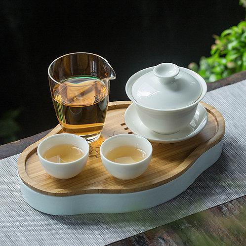 Vintage Pottery & Porcelain Tea Boat, Chinese Tea Set Wholesale