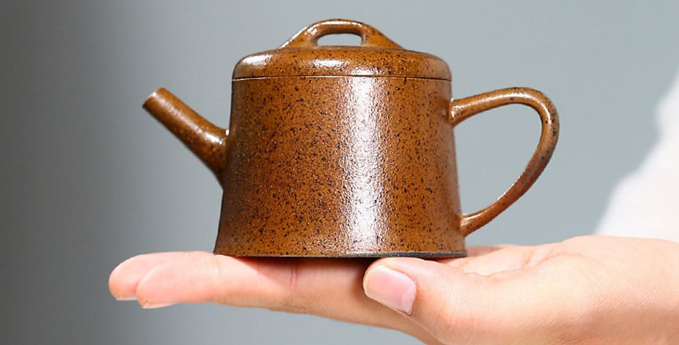 Wide-mouth Shi Piao Teapot, Gongfu Tea Ceremony Teapot