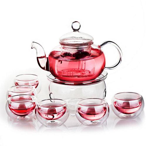 Glass Tea Set Suite, Chinese Tea Set Wholesale